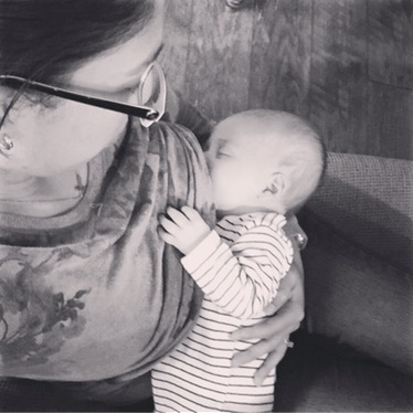 Breastfeeding and working: A daily struggle.