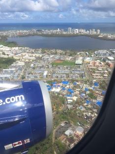 Arriving in San Juan