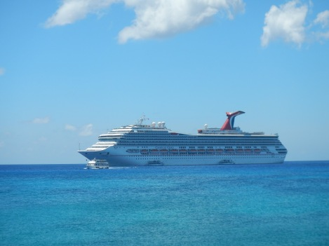 Carnival Glory in Grand Cayman